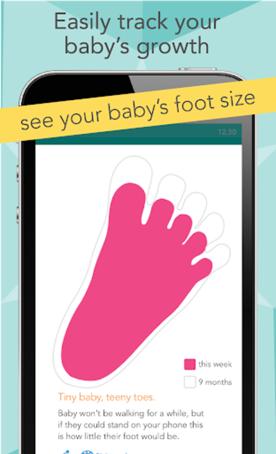 Ovia Pregnancy Tracker: Baby Due Date Countdown screenshot 8