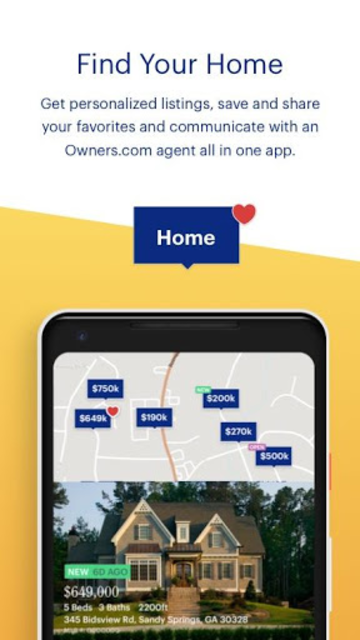 Owners.com Real Estate – Buy or Sell a Home screenshot 1