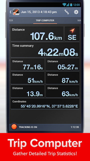 Speed Tracker, GPS speedometer screenshot 5