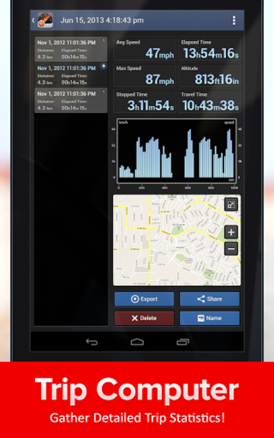 Speed Tracker, GPS speedometer screenshot 13