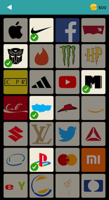 Logo Test: World Brands Quiz, Guess Trivia Game screenshot 1