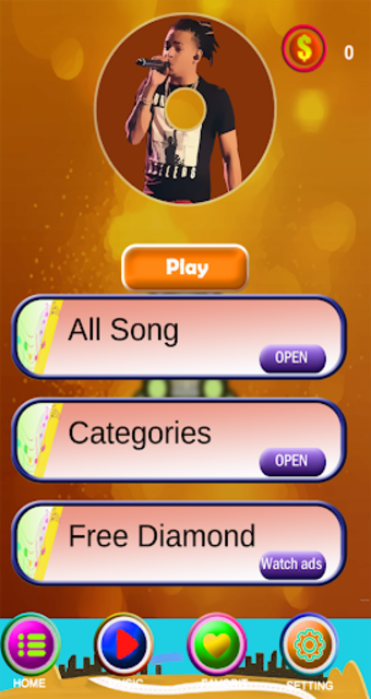 Ozuna Piano Tiles Game screenshot 2