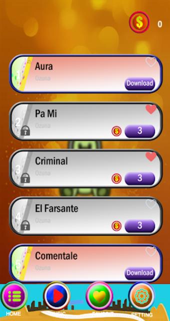 Ozuna Piano Tiles Game screenshot 3