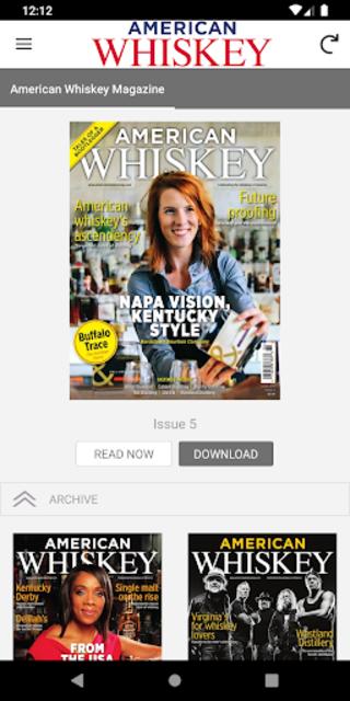 American Whiskey Magazine screenshot 1