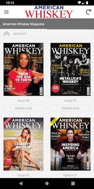 American Whiskey Magazine screenshot 2