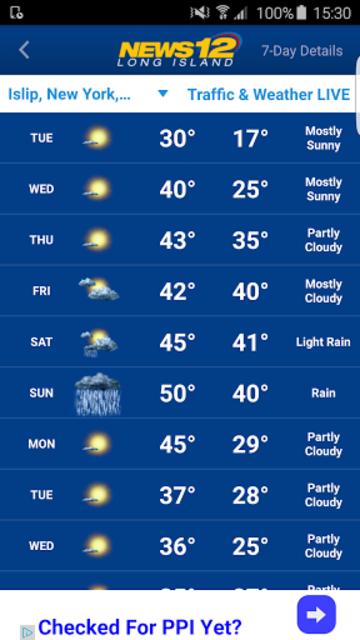 News 12 Weather screenshot 3