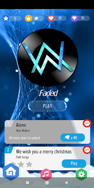 Alan Walker : Best Piano Tiles DJ screenshot 1