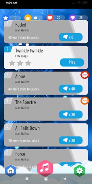 Alan Walker : Best Piano Tiles DJ screenshot 2