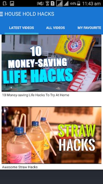 HouseHold Hacks screenshot 1