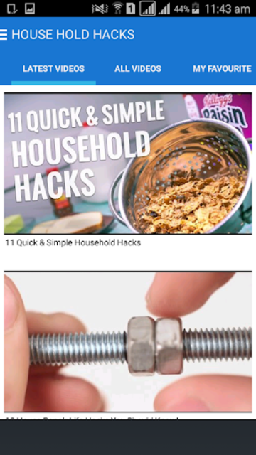 HouseHold Hacks screenshot 5