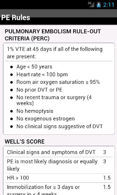 palmEM: Emergency Medicine screenshot 14