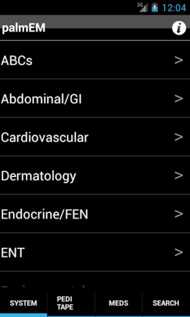 palmEM: Emergency Medicine screenshot 7