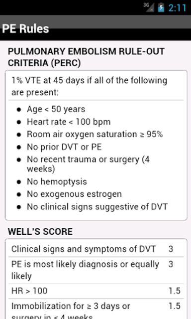 palmEM: Emergency Medicine screenshot 20