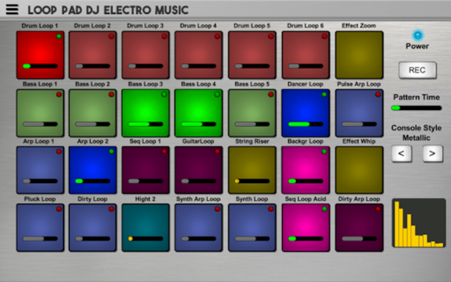 Loop Pad DJ Electro Music Simulator screenshot 1
