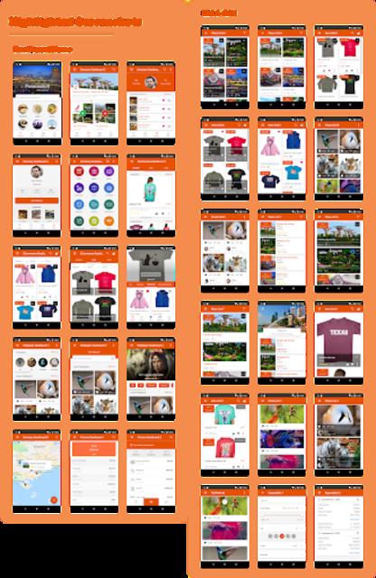 Awesome Material ( Material Design UI Template ) screenshot 1