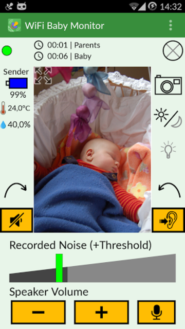 WiFi Baby Monitor screenshot 2