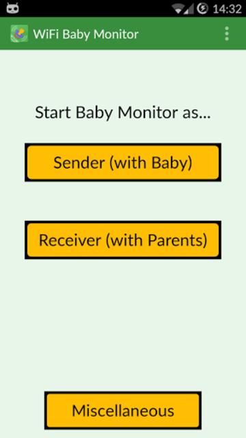 WiFi Baby Monitor screenshot 3