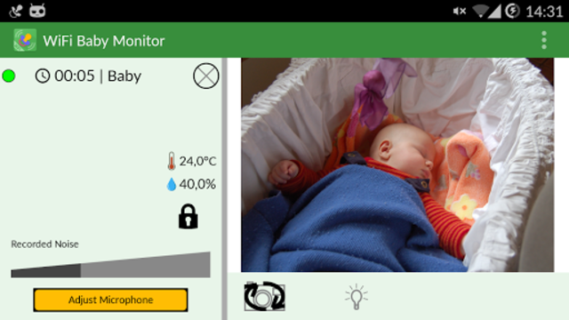 WiFi Baby Monitor screenshot 8