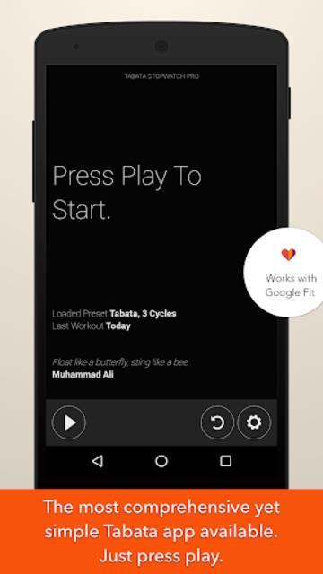 Tabata Stopwatch Pro - Tabata Timer and HIIT Timer screenshot 5