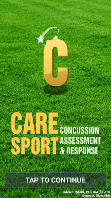 Concussion Assessment&Response screenshot 1