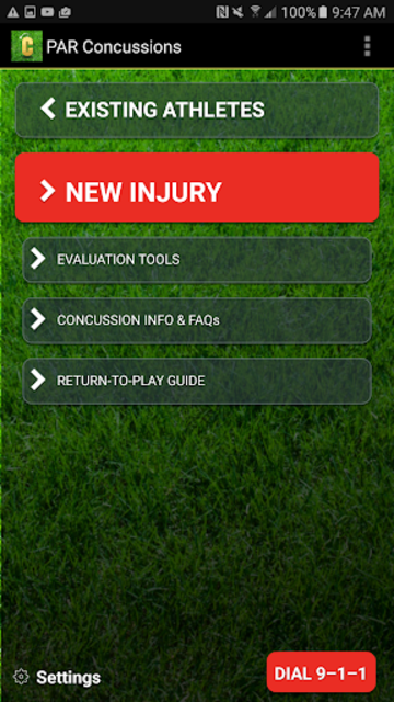 Concussion Assessment&Response screenshot 4
