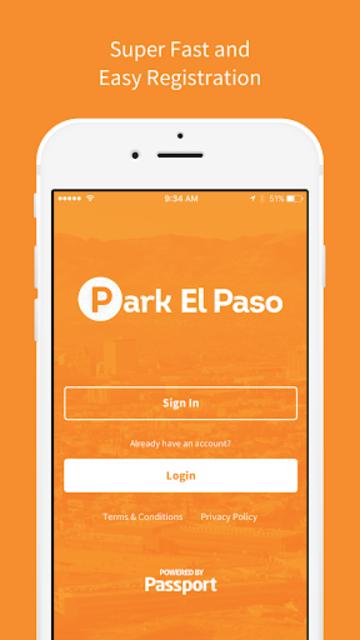 Park El Paso - Mobile Payments screenshot 1