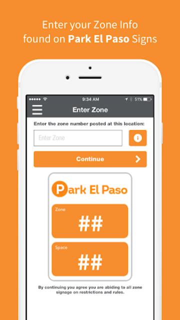 Park El Paso - Mobile Payments screenshot 3