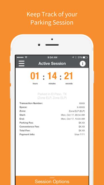 Park El Paso - Mobile Payments screenshot 4