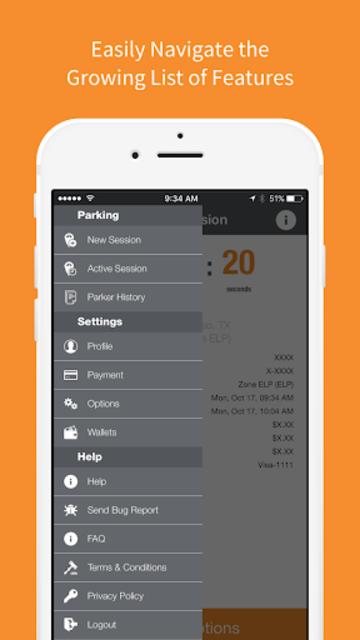 Park El Paso - Mobile Payments screenshot 5