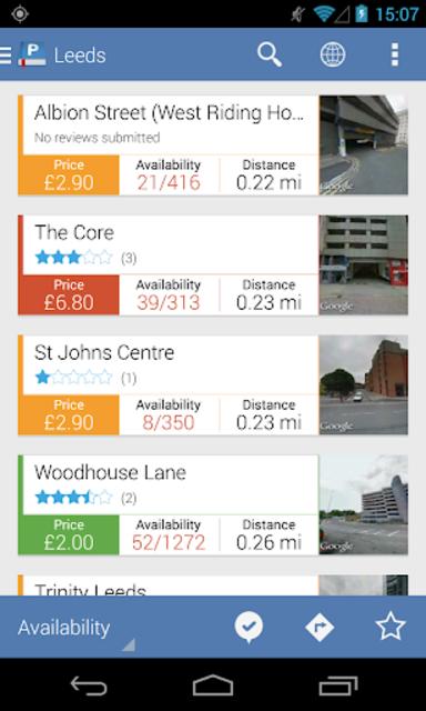 Parkopedia Parking screenshot 2