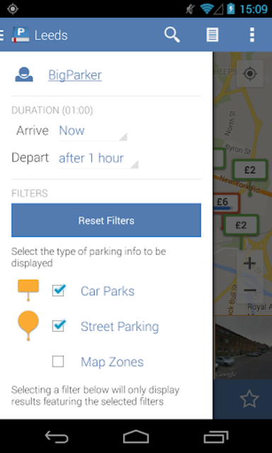 Parkopedia Parking screenshot 5