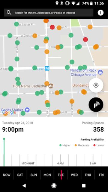 ParkChicagoMap screenshot 1