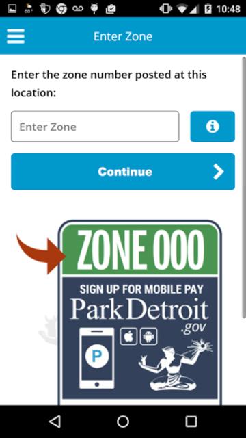 ParkDetroit screenshot 4