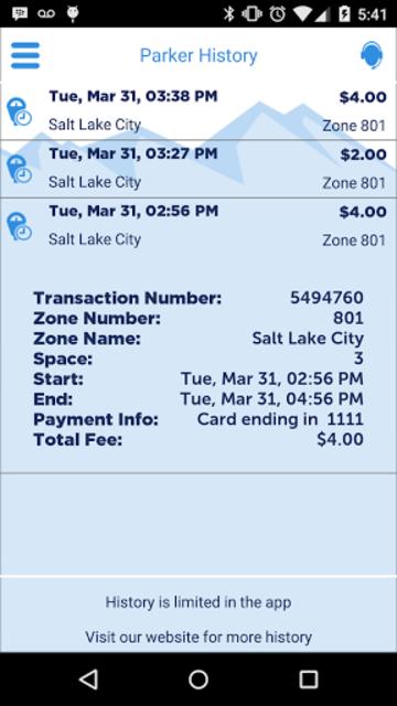 ParkSLC screenshot 6