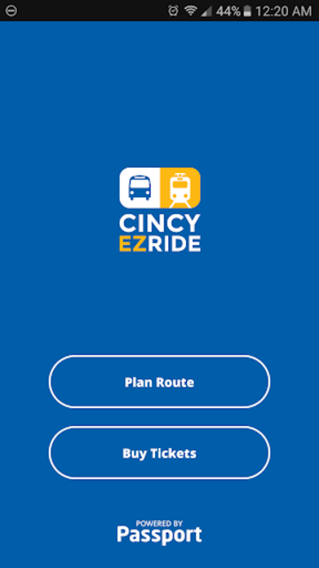 Cincy EZRide screenshot 1
