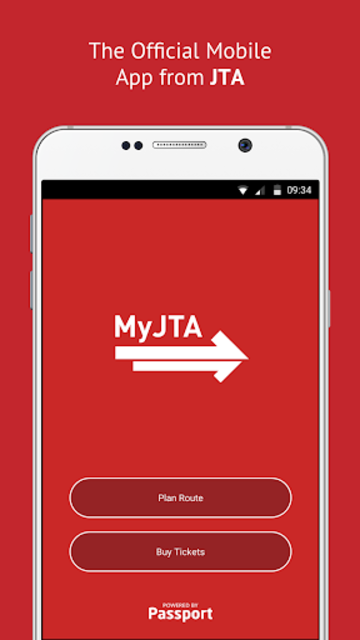MyJTA screenshot 1