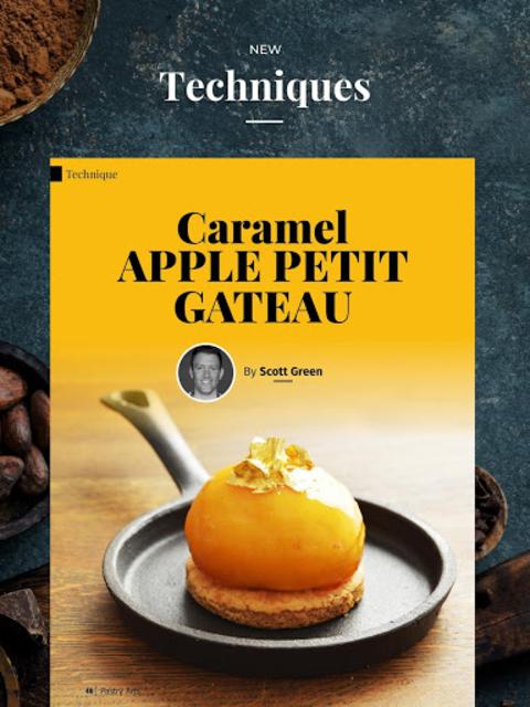 Pastry Arts Magazine screenshot 11