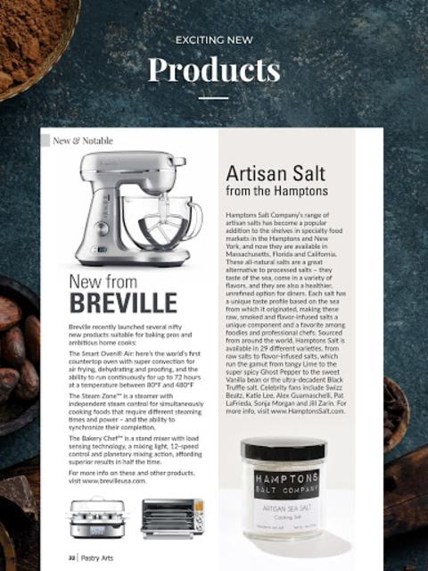 Pastry Arts Magazine screenshot 14