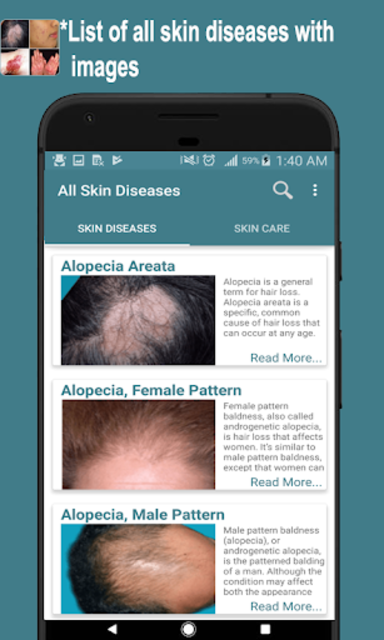 All Skin Diseases and Treatment- A to Z screenshot 16