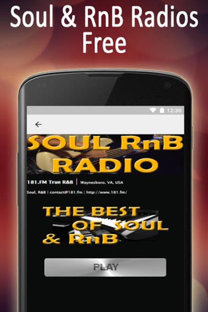 Soul R&B Urban Radio Stations screenshot 5