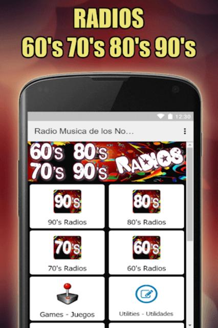 Oldies 60s 70s 80s 90s Radios. Retro Radios Free screenshot 8