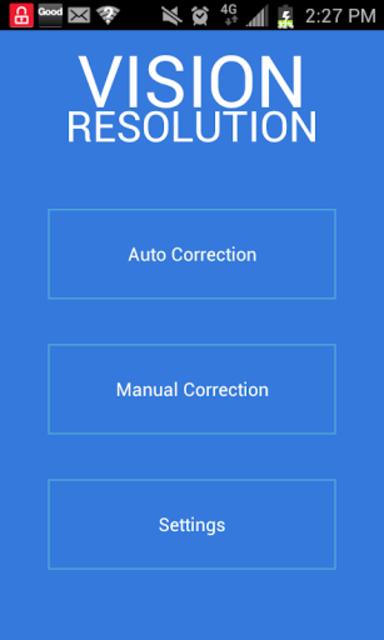Vision Resolution screenshot 1