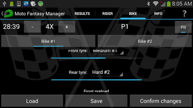 Moto Racing Manager GP screenshot 3