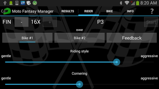 Moto Racing Manager GP screenshot 5