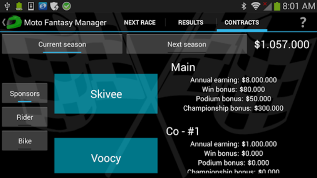 Moto Racing Manager GP screenshot 6