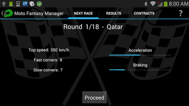 Moto Racing Manager GP screenshot 7
