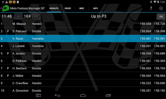Moto Racing Manager GP screenshot 8