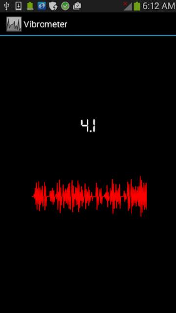 Vibration screenshot 1
