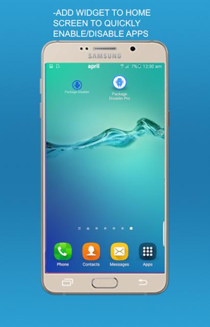 Package disabler pro for  LG screenshot 1