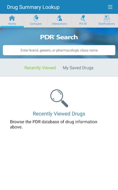 mobilePDR screenshot 1